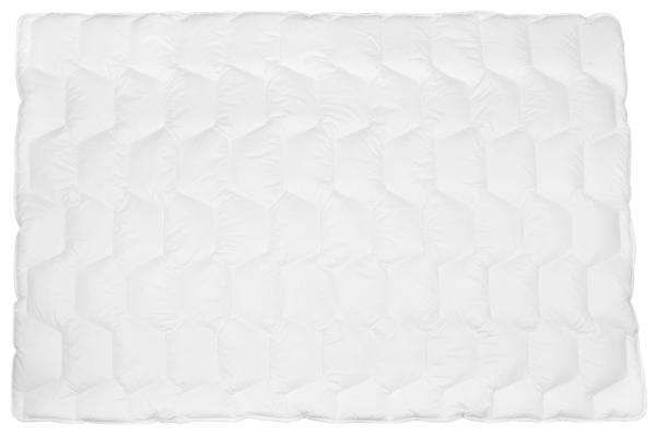 Allergikergeeignete Bettdecke aus 100% Polyester, verfügbar in der Größe ca. 135x200 cm, Farbe weiß