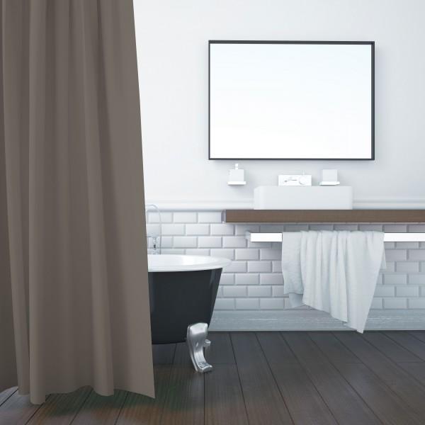 Hotelwaesche-Kopfkissen-Duschvorhang-Badewannenvorhang