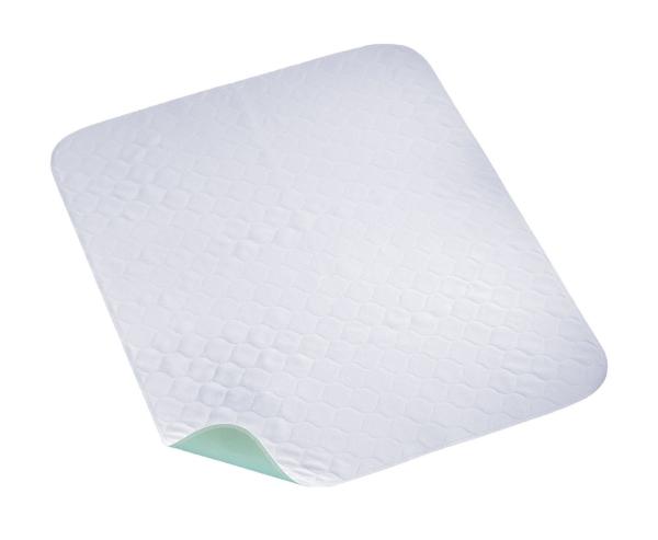 Kochfeste Molton Inkontinenzeinlage, wasserdicht und super saugfähig, Größe ca. 75x85 cm, Farbe mint, Serie Konti