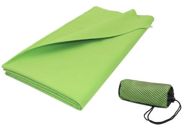 Saugstarkes Mikrofaser-Badetuch/Sporthandtuch aus schnelltrocknender Mikrofaser, Größe ca. 90x180 cm, verfügbar in vielen peppigen Farben, Serie Active