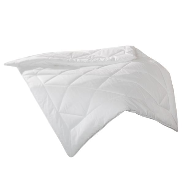 Qualitäts-Bettdecke/Steppdecke aus 100% Polyester, verfügbar in der Größe ca. 135x200 cm, Farbe weiß, Serie Duo-Star