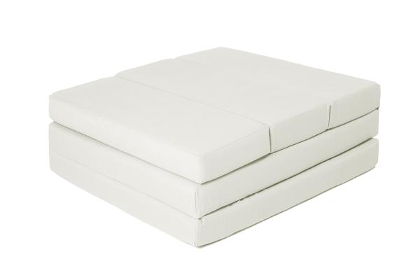 Praktische 5-fach faltbare Klappmatratze aus 100% Polyurethan, Größe ca. 65x220 cm, verfügbar in fünf verschiedenen Farben, Serie Soma