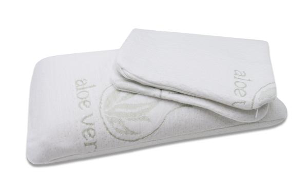 Viskoelastisches Nackenstützkissen, verfügbar in vier verschiedenen Größen (24x40 cm, 40x70 cm, 40x80x12 cm, 40x80x15 cm), Farbe natur, Serie Velora
