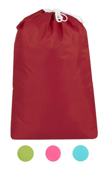 Robuster Wäschebeutel aus 100% Polyester, Größe ca. 52x75 cm, verfügbar in vier verschiedenen Farben