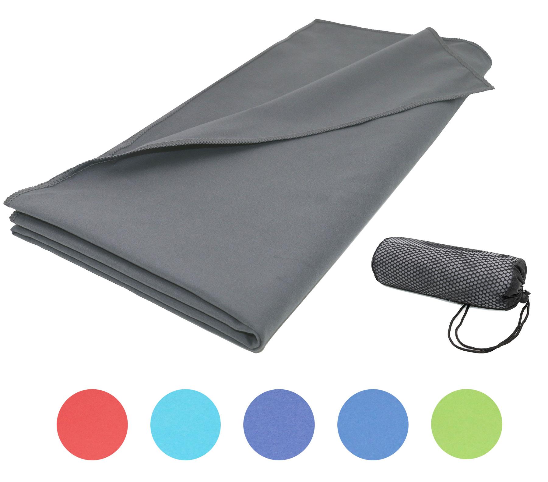 saugstarkes mikrofaser badetuch sporthandtuch aus schnelltrocknender mikrofaser gr e ca. Black Bedroom Furniture Sets. Home Design Ideas