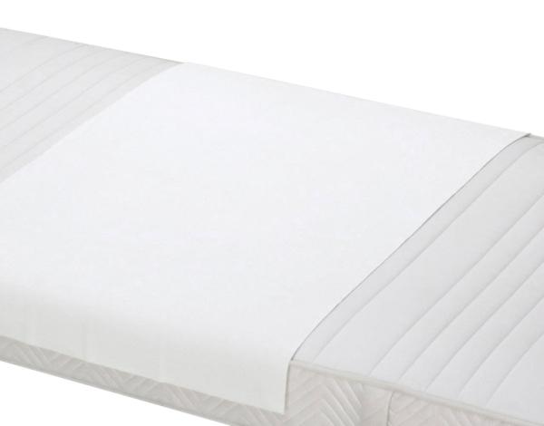 2er-Set wasserdichte Betteinlage aus 100% saugfähiger Baumwolle, verfübgar in sechs verschiedenen Größen, Farbe weiß, Serie 40537